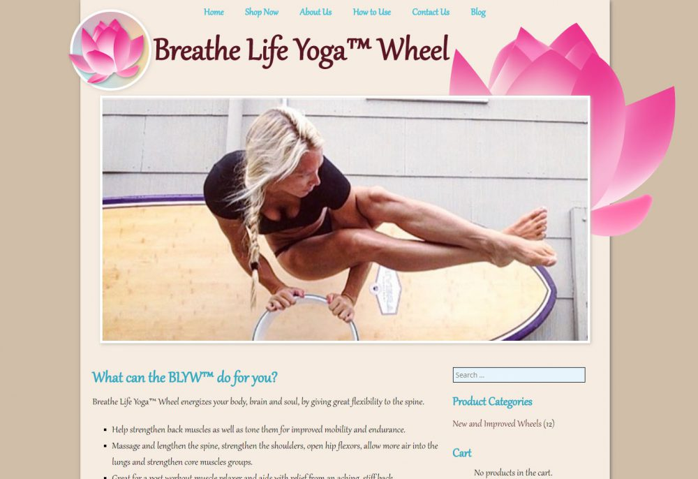 Breathe Life Yoga Wheel