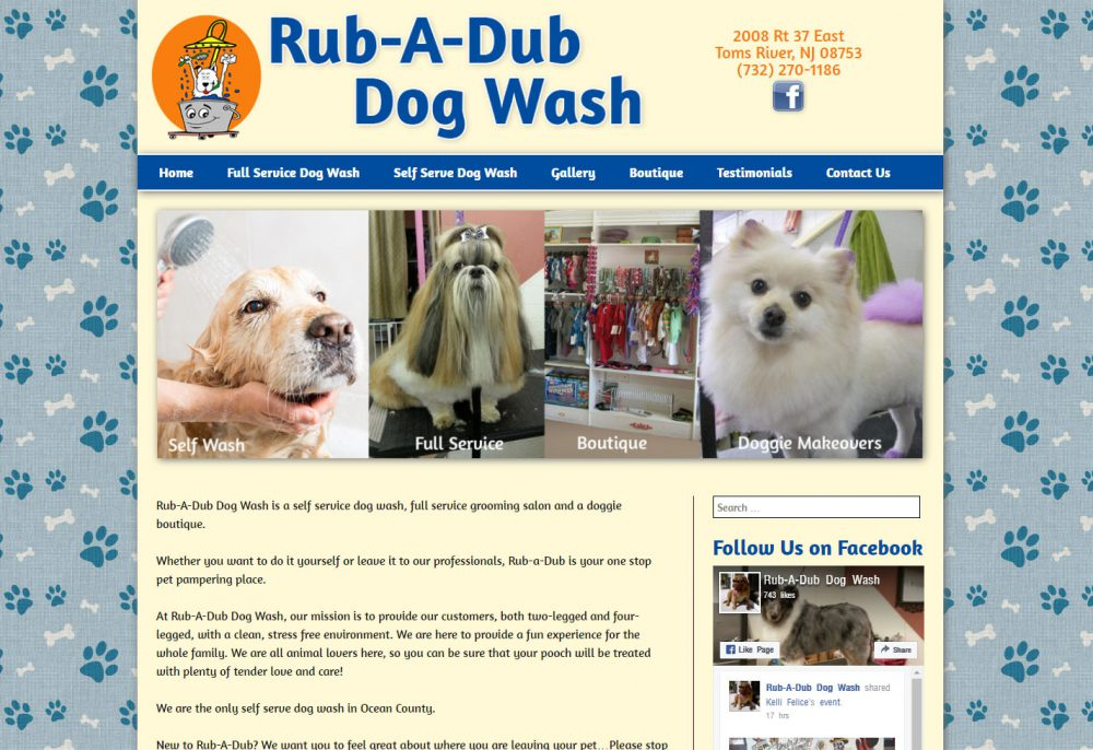 Rub a Dub Dog Wash