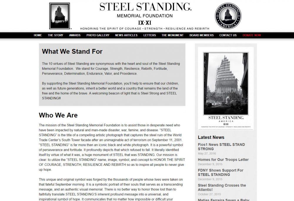 Steel Standing Foundation